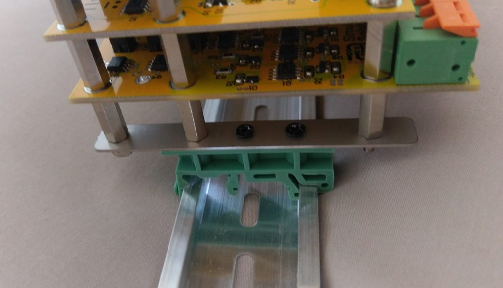 DIN Rail Mounting Example
