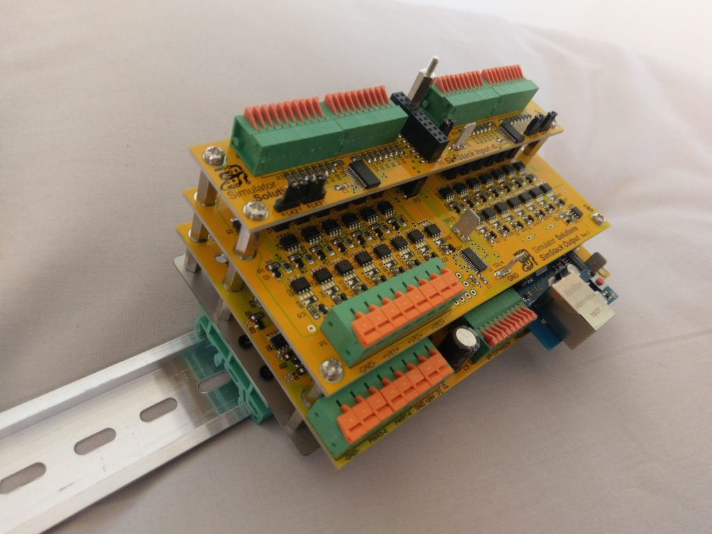 SimStack DIN Rail Mounting Kit