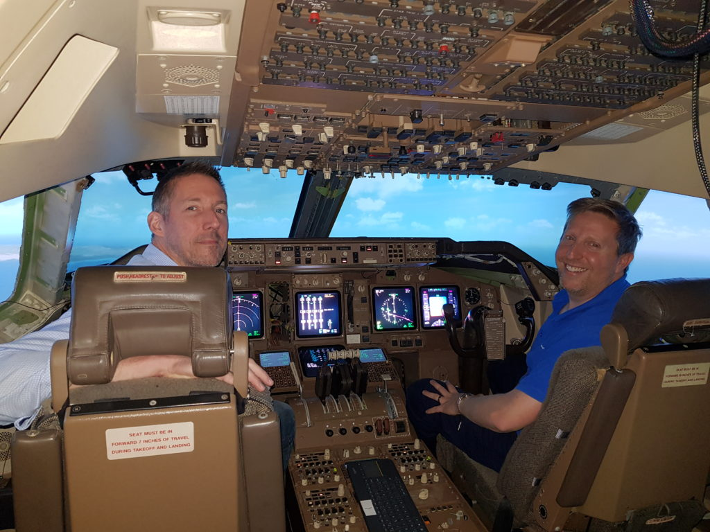 747-400 Simulator Commissioned