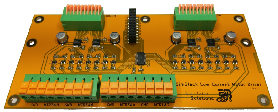 SimStack Low Current Motor Controller